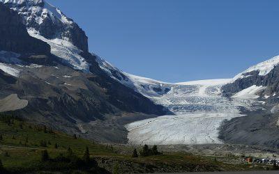 Gletscher und Wasserfälle