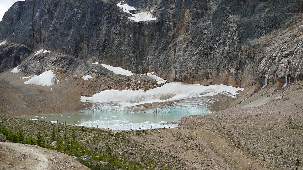 Gletscher und Schluchten